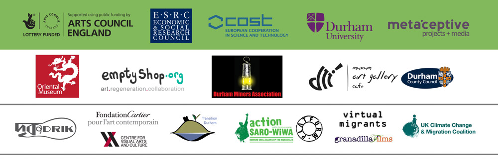 Footprint Modulation - Logos for funders, partners and collaborators