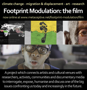 Footprint Modulation - the film, to be screened at Tyneside Cinema